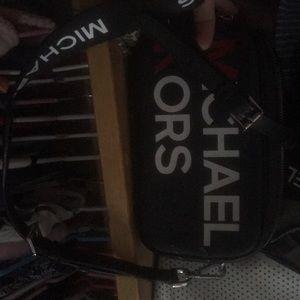 "Brand new MK ""camera bag"" with crossbody strap"